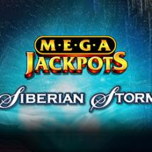 Megajackpots Siberia Banner