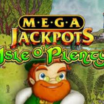 Mega Jackpots Isle o Plenty Banner
