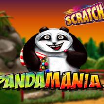 Panda Mania Scratch Banner