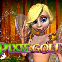 Pixie Gold Banner