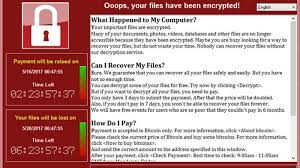 WannaCry Ransom Page