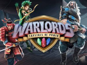 Warlords Crystals of Power Slot Logo