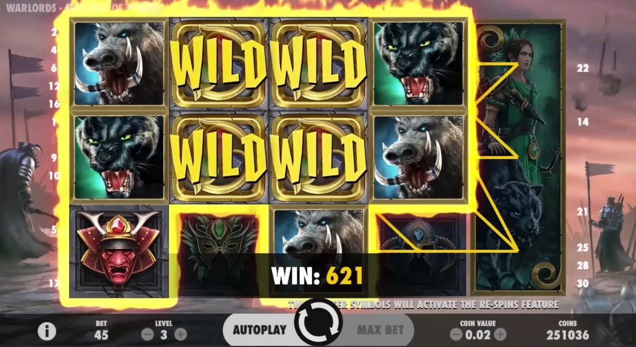 Warlords Crystal of Power Wild Win