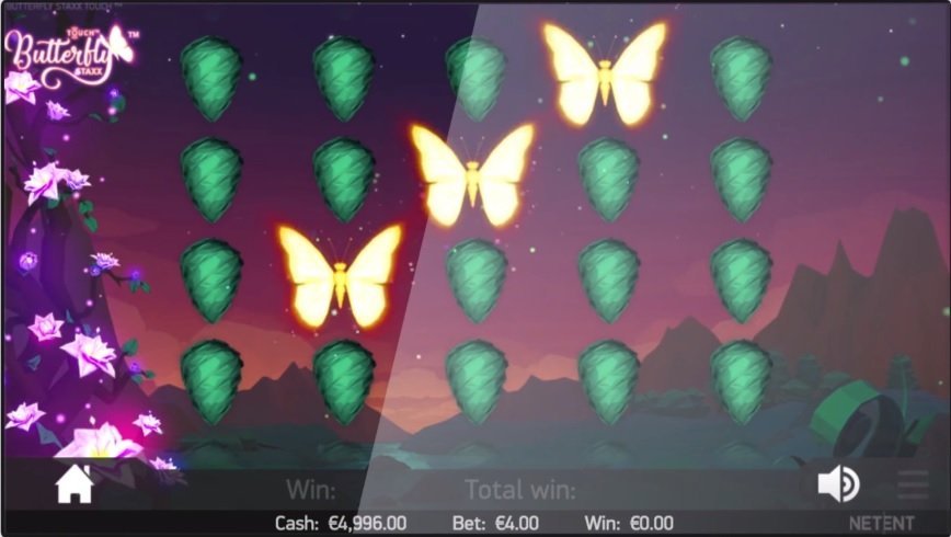 Butterfly Staxx Re-spins Gameplay