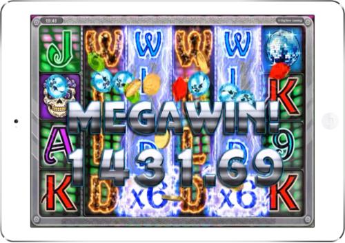 Danger High Voltage Mega Win
