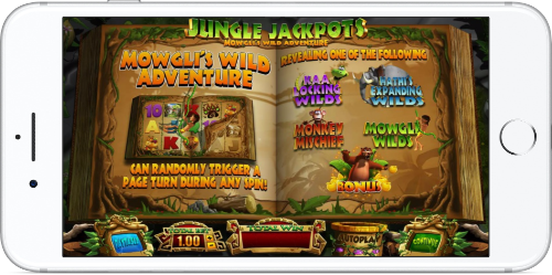 Jungle Jackpots Game Introduction