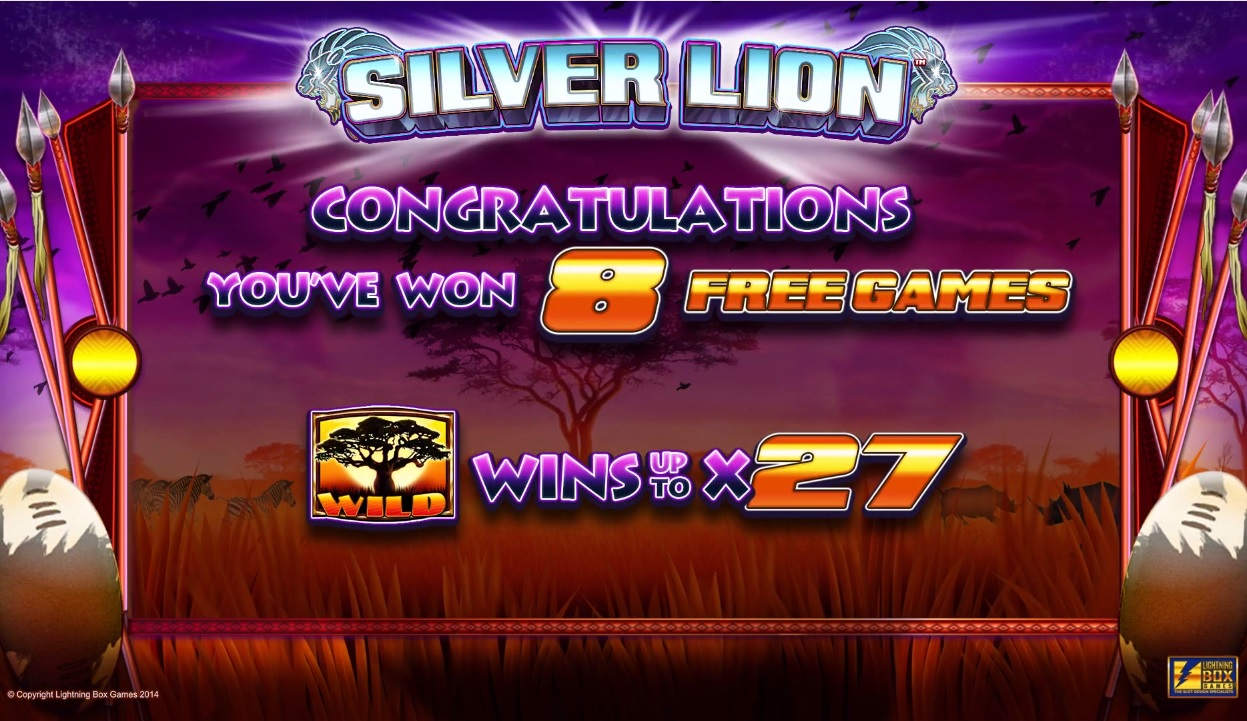 Silver Lion Free Spins Trigger