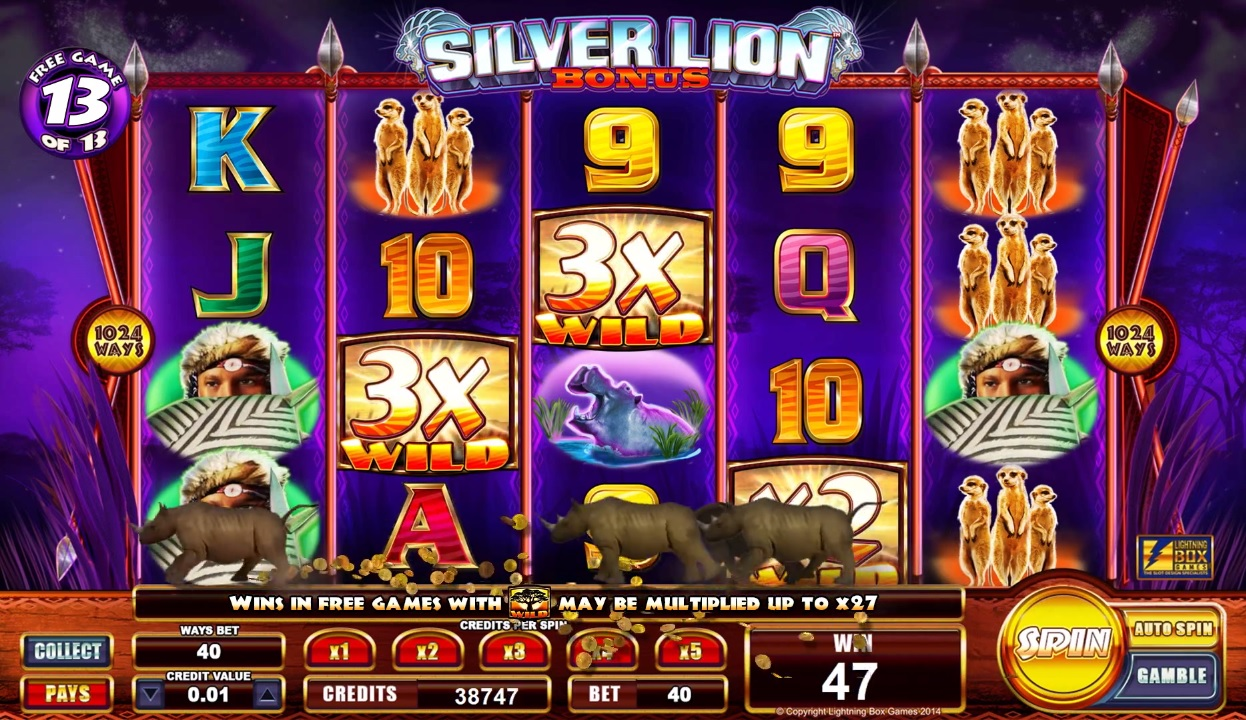 Silver Lion Super Big Win