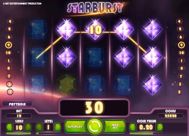 Starburst Small Win