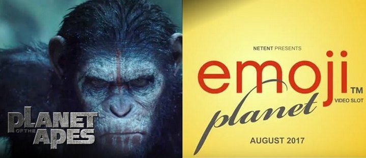 NetEnt Planet of the Apes and Emoji Planet