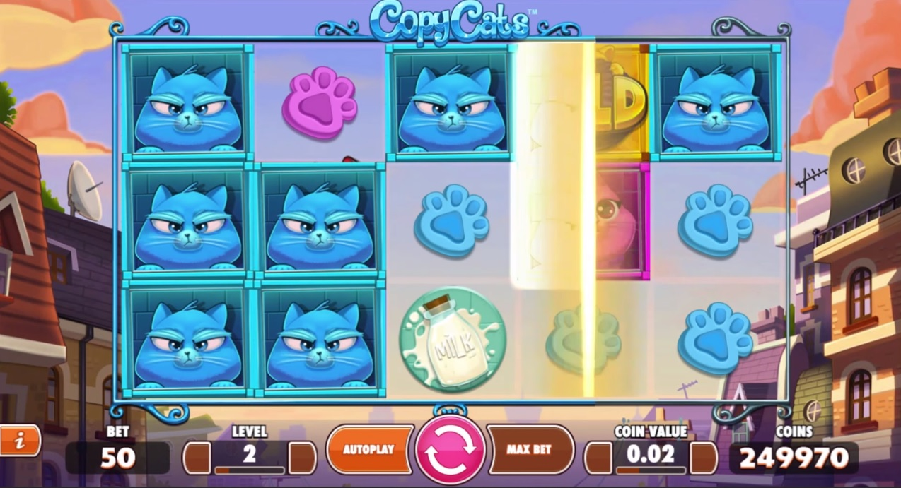 Copy Cats Bonus Feature