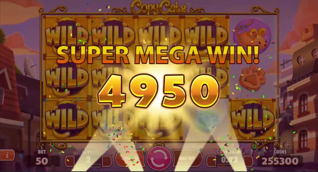 Copy Cats Super Big Win