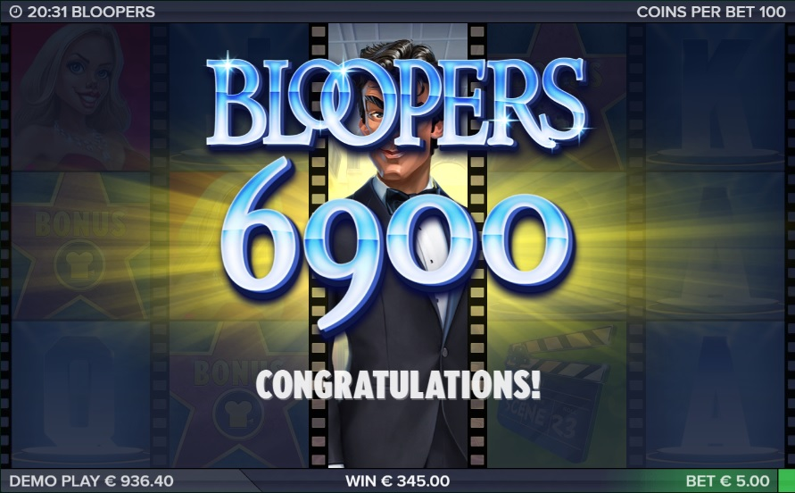 Bloopers Super Big Win