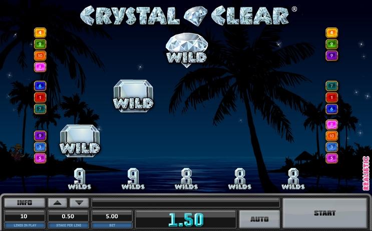 Crystal Clear Wild Symbols