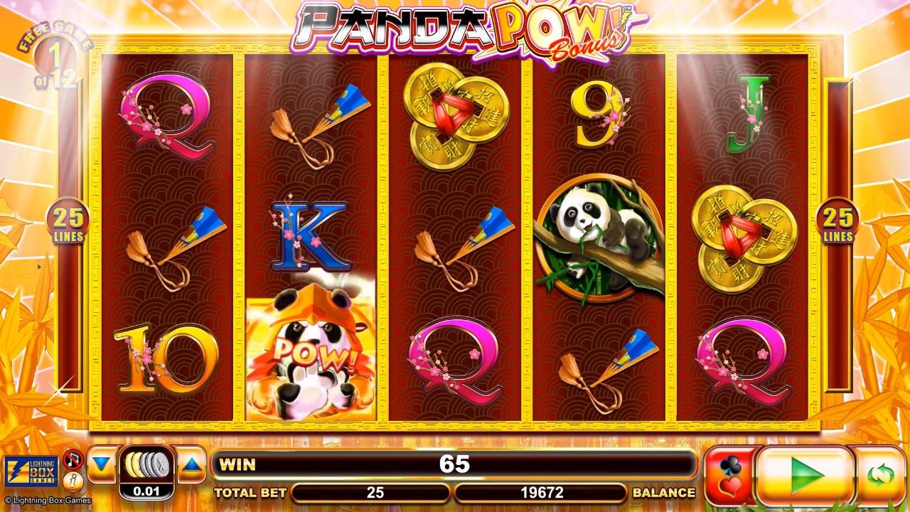 Panda Pow Extra Spins Gameplay