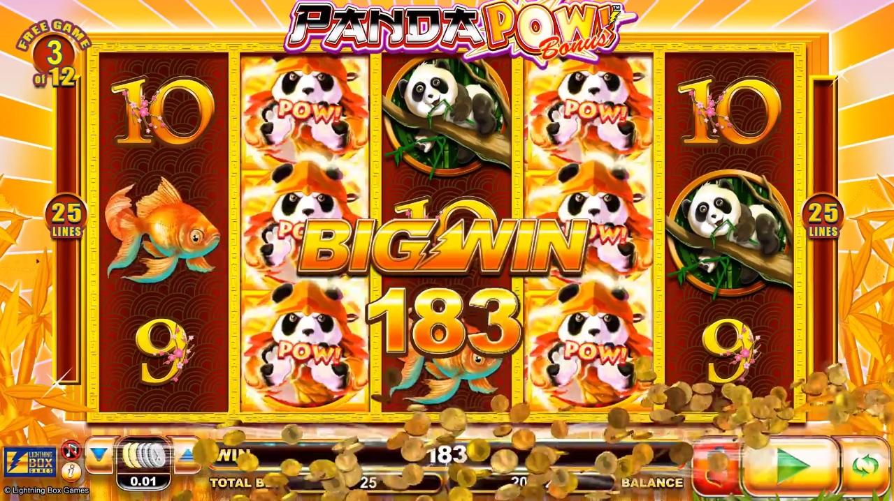 Panda Pow Super Big Win