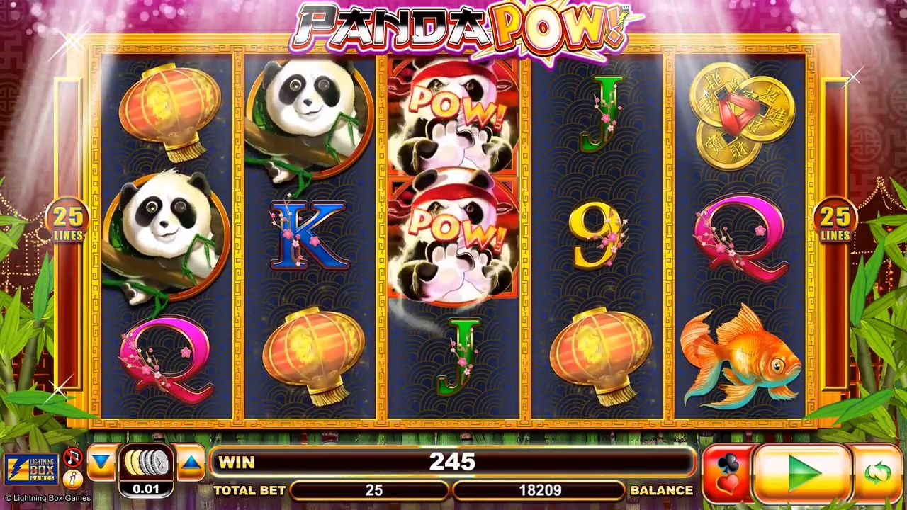 Panda Pow Wild Symbols