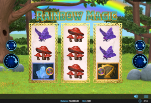 rainbow magic realistic slot