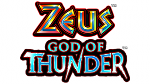 Zeus: God of Thunder Slot Logo