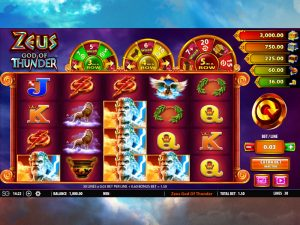 zeus god of thunder slots