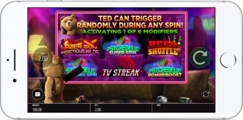 Ted Bonus Features List