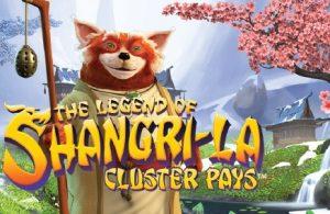 the legend of shangri-la cluster pays slot