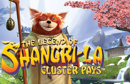 the legend of shangri-la cluster pays slot