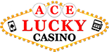 Ace Lucky Casino Logo Linear