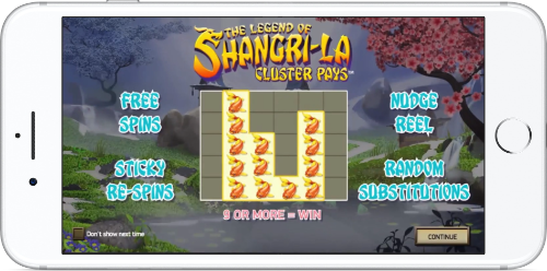 Shangri-La Cluster Pays Game Introduction