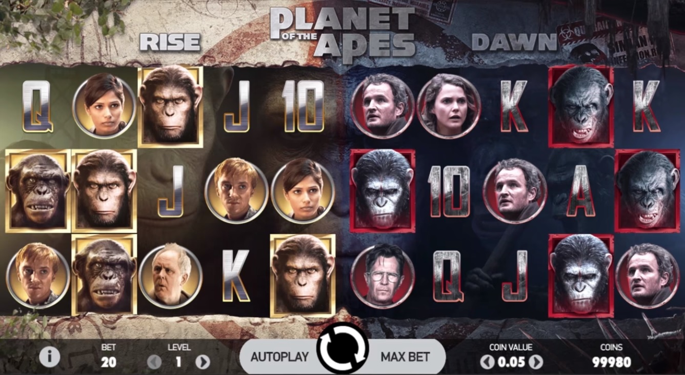 Planet of the Apes Gameplay