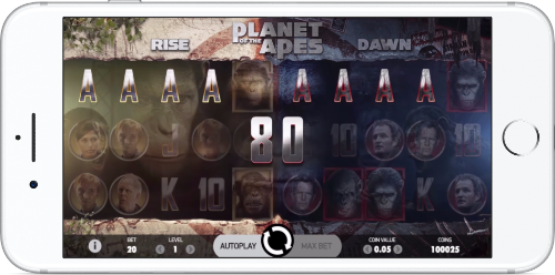 Planet of the Apes Graphics