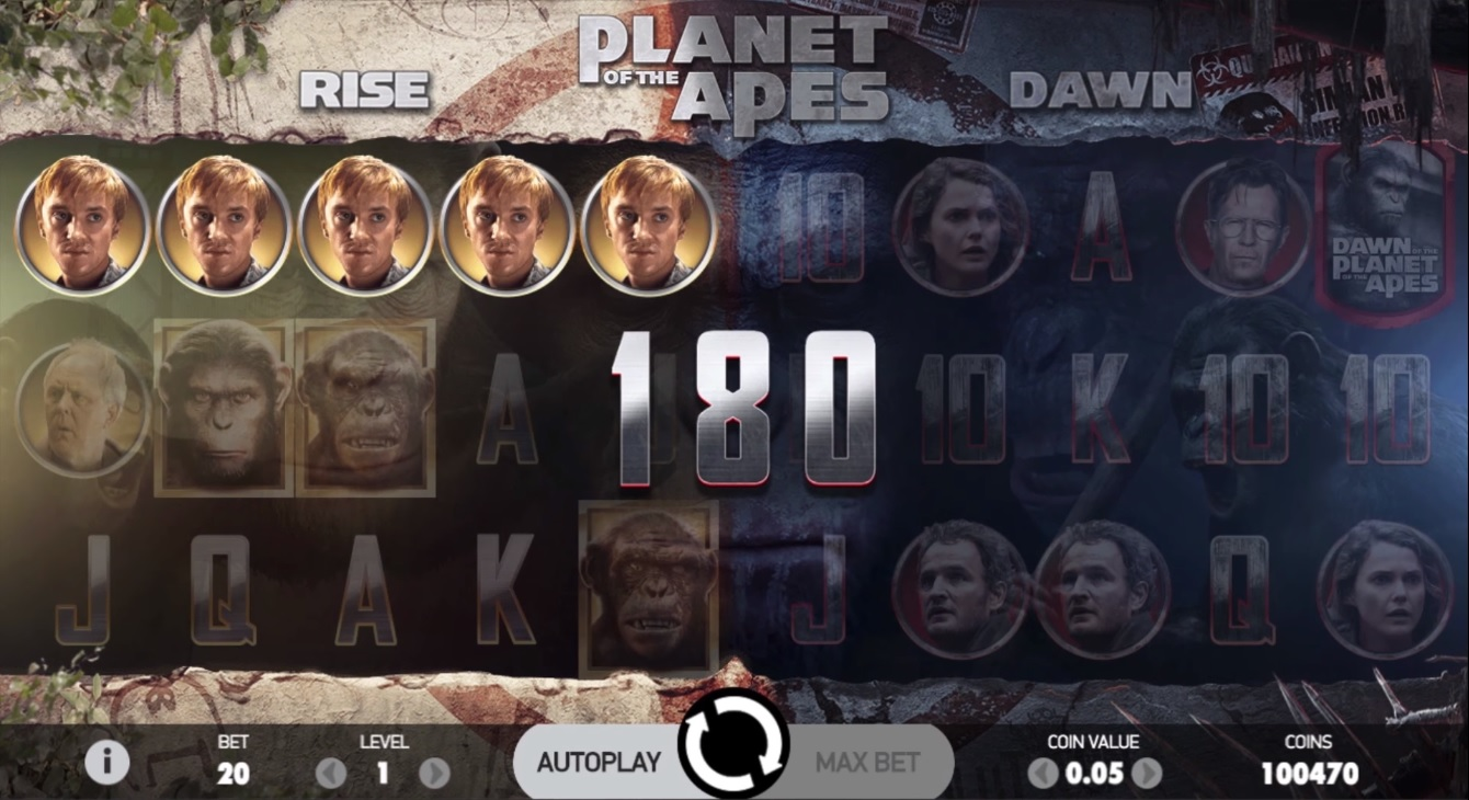 Planet of the Apes Small Win