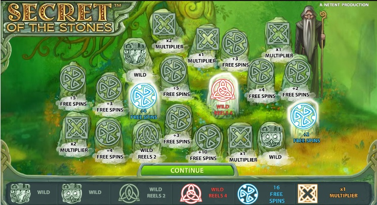 Secret of the Stones Stone Picks