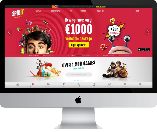 spinit casino review lobby