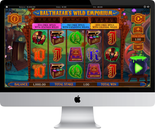 Balthazar's Wild Emporium Gameplay