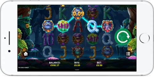 the odd forest mobile slot review