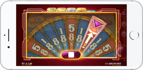 Deco Diamonds Slot Bonus Wheel