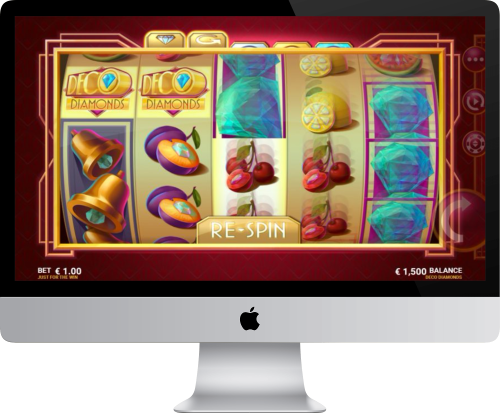 Deco Diamonds Slot Gamepla