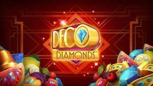 Deco Diamonds Slot Logo