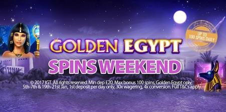 golden egypt slot extra spins