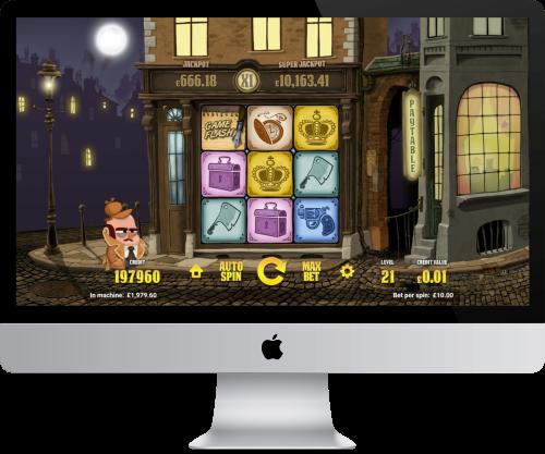 inspector slot base game