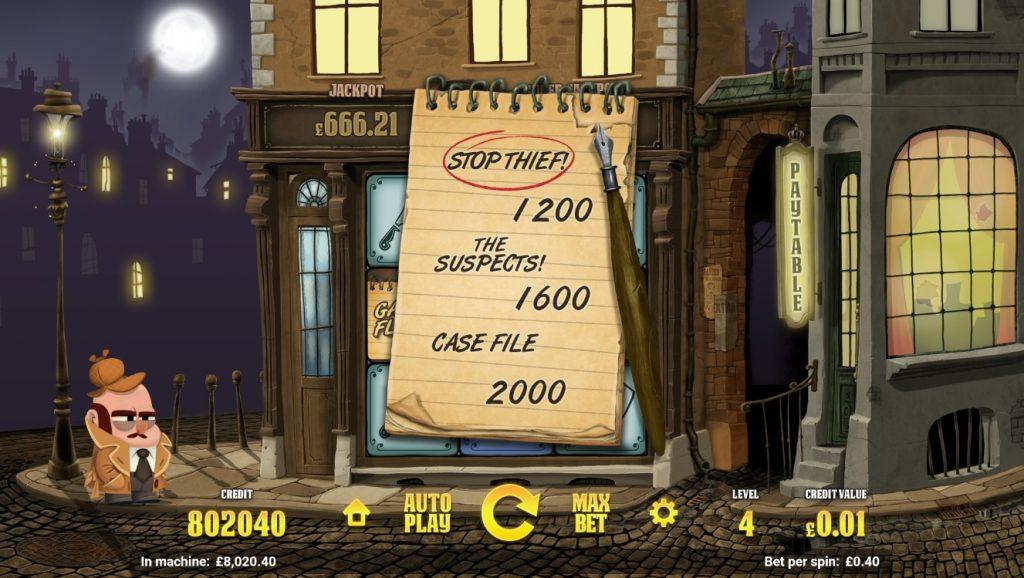 inspector slot game flash