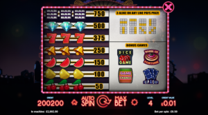 lucky dice betting lines