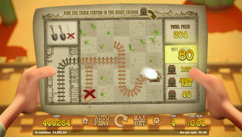 Railroad Express Builder Bonus Game