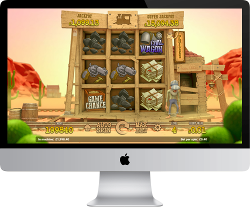 Railroad Express on Desktop