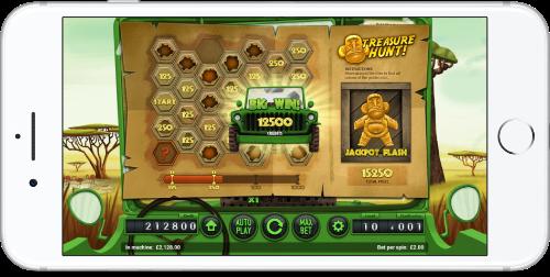 safari mobile slot