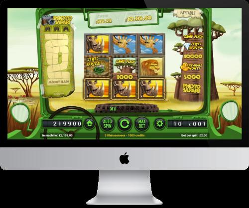 safari slot game review
