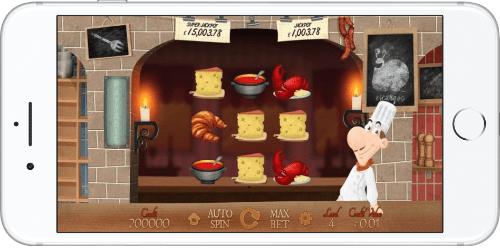 iPhone Screenshot Le Chef
