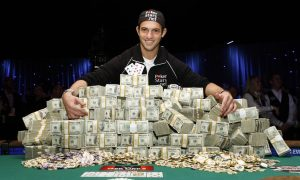 Pro Gambler Big Poker Win