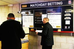 Sport Matchday Betting Two Men